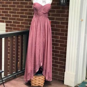 Belsoie Hi-low brides maid dress